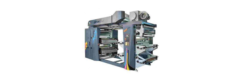 Stack Flexo 4 Renk Baskı Makinesi