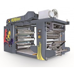Stack Flexo 6 Renk Baskı Makinesi